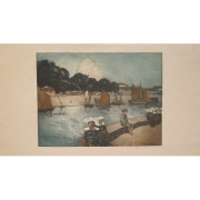 Galerie Seydoux, Richard RANFT, Le Port breton