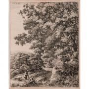 Galerie Seydoux, Anthonie WATERLOO, Suite de grands paysages en hauteur