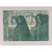 Galerie Seydoux, Charles COTTET, L'Enterrement en Bretagne