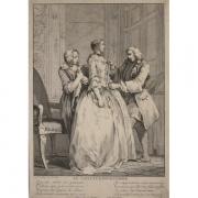 Galerie Seydoux, Charles-Nicolas COCHIN, Le tailleur pour femme