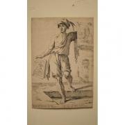 Galerie Seydoux, Guiseppe-Maria MITELLI, Le vendeur de rosaires et d'images sacrées