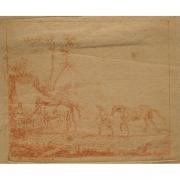 Galerie Seydoux - Estampe - Jan Peeter VERDUSSEN - Scène de campement militaire