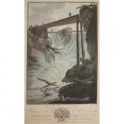 Galerie Seydoux - Estampe - Charles-Melchior DESCOURTIS - Chute de la Tritt