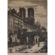 Galerie Seydoux - Estampe - Charles MERYON - Le Petit Pont