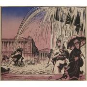 Galerie Seydoux - Estampe - Robert BONFILS - La Place de la Concorde