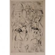 Galerie Seydoux - Estampe - Mily POSSOZ - Sous la pluie