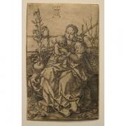 Galerie Seydoux - Estampe - Heinrich ALDEGREVER - La Vierge et l'Enfant