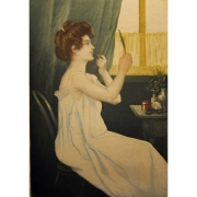 Galerie Seydoux - Estampes - Charles MAURIN - Le Maquillage
