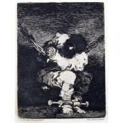 Galerie Seydoux - Estampes - José Francisco de GOYA - Le Petit Prisonnier
