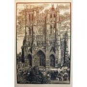 Galerie Seydoux - Estampes - Jacques BELTRAND - La Cathédrale d'Amiens