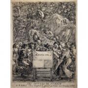 Galerie Seydoux - Estampes - Stefano della BELLA - Frontispice des Oeuvres de Scarron