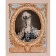 Galerie Seydoux, Jean-François JANINET, Portrait de Marie-Antoinette
