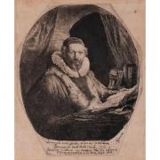 Galerie Seydoux, REMBRANDT Harmensz van RIJN, Portrait de Jan Uytenbogaert
