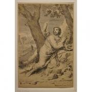 Galerie Seydoux, Claude Mellan, Saint-Augustin