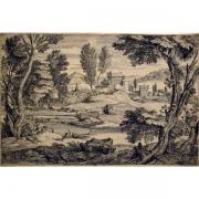 Galerie Seydoux - Estampes - Adriaen van der CABEL - Paysage pastoral