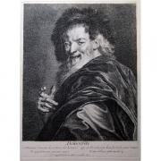 Galerie Seydoux - Estampes - Antoine COYPEL - Démocrite, 1692
